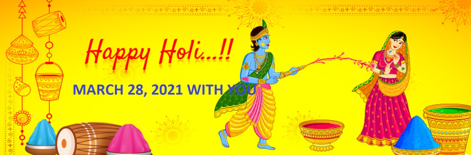 Happy Holi March 2021 Wishes QUOTES English and Hindi 4