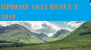 HPBOSE ने घोषित किया 10th/12th 2020 March का परीक्षा परिणामhpbose.org 1