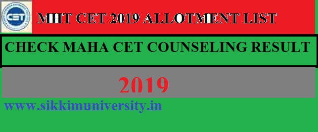 MHT CET 2021 Seat Allotment Institutes Wise Download Engineering Allotment List 2021 1