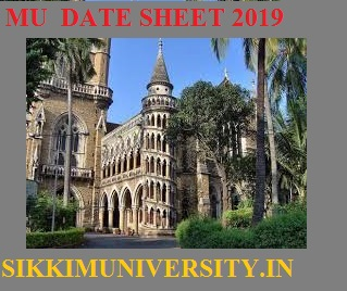 Mumbai University First Half Summer Time Table 2020 (Released) MU Date Sheet 2020 1