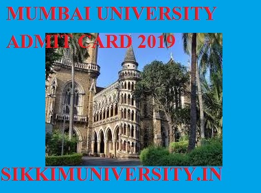 Mumbai University Ist, 2nd, 3rd Year Admit Card 2021 BA BSC BCOM MA Exam Hall Ticket 1