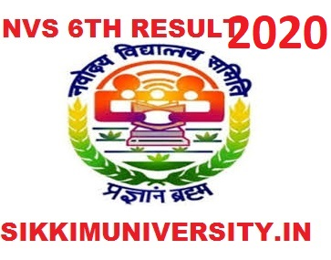 JNV Selection Test 6th Result 2020 Navodaya Vidyalaya Selection Test Result April 2020 1