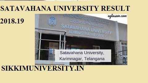 Satavahana University Ist, 2nd, 3rd Year Result 2020 BA BSC BCOM MA MSC MCOM Exam 1