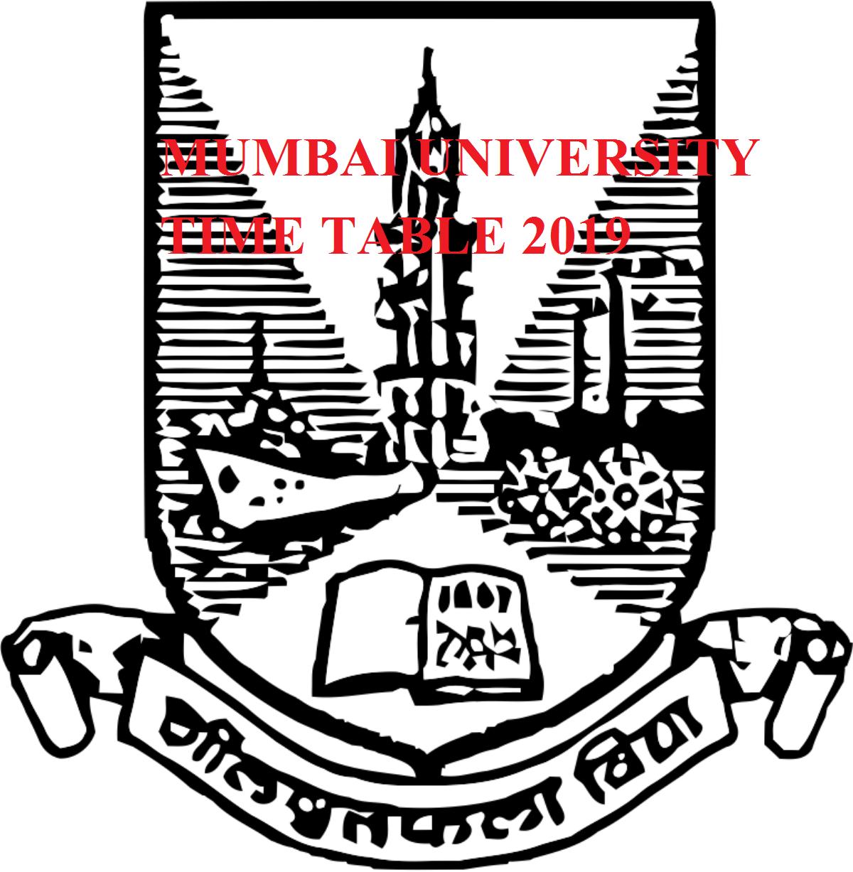 Mumbai University Summer Time Table 2020 Date for UG/PG Exam 2020 1