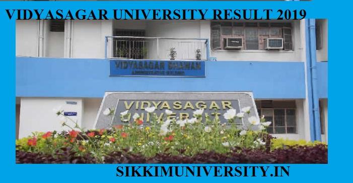 Vidyasagar University Ist, 2nd,3rd Year Result 2020 BA BSC BCOM MA MSC Exam Result 1
