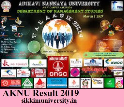 Adikavi Nannaya University Ist, 3rd, 5th Sem Degree Results 2021, AKNU Degree Ist, 2nd, 3rd Year Nov Result 2021 2