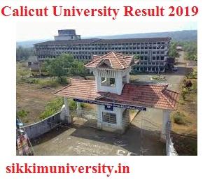 Calicut University Ist, 2nd, 3rd Year Result 2020 for BA BSC BCOM MA MSC MCOM B.Ed Exam 1