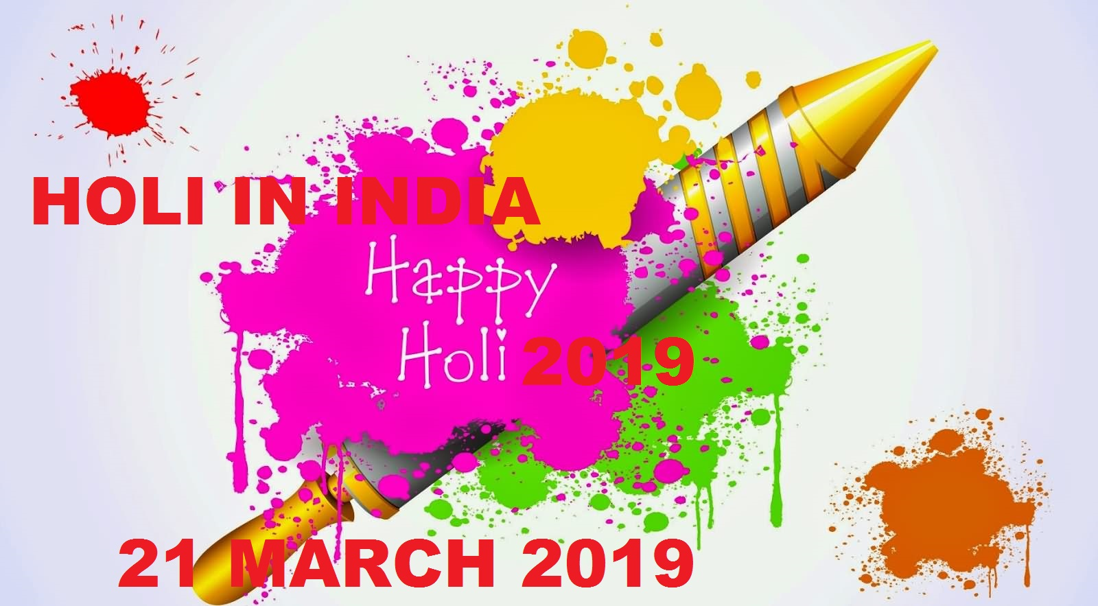 Happy Holi March 2019 Wishes QUOTES English and Hindi 5