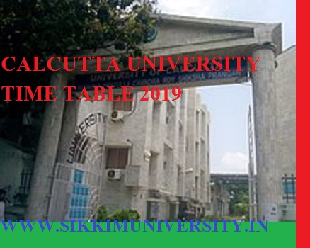 Calcutta University Exam Schedule 2021 BA BSC BCOM Part I, II, III Time Table Exam Date 1