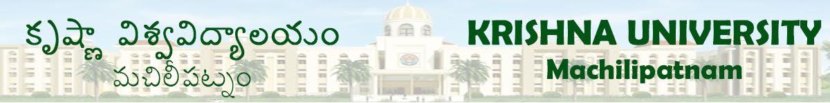 Krishna University Results 2019 Part I, II, III  BSC MSC BCOM MCOM BA MA Exam 1