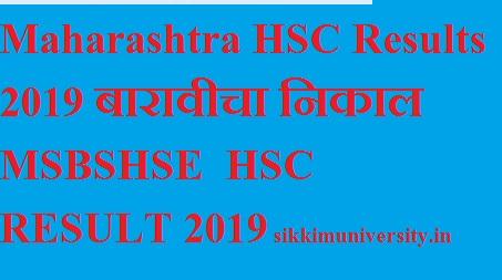 Maharashtra HSC Name Wise Result 2019 - MAHA Board XIIth