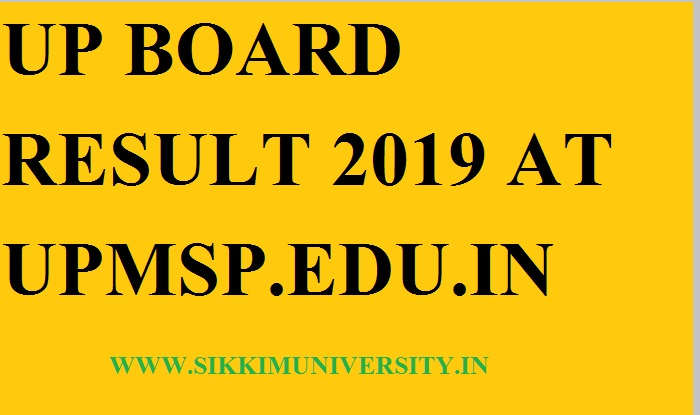 UP Board Matric Results 2020 - Upresults nic in UP Board High School
