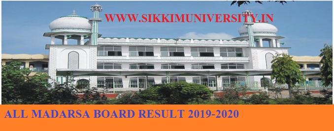 Madarsa Board Result 2020 State Wise Maulvi, Fazil, Alim Result Various States 1