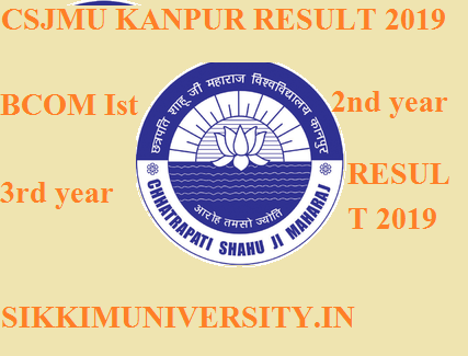 Kanpur University B.Com Ist, 2nd, 3rd Year Result March 2020 - Download CSJMU BCOM Result 2020 1