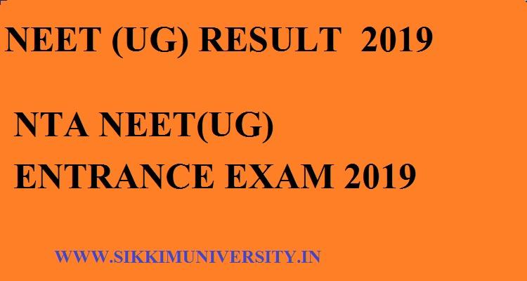 NEET UG Results 2019: Scorecard, Date, Rank List, Merit, Cut