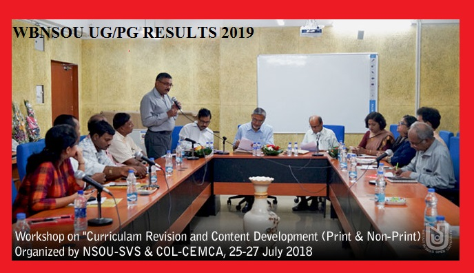 NSOU UG/PG Name Wise Results 2020, Netaji Subhas Open University Regular/Supply Results 2020 1