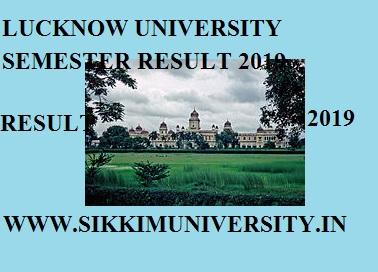 Lucknow University 2nd 4th 6th Sem. Result April 2021 BA BSC BCOM MA Exam 1