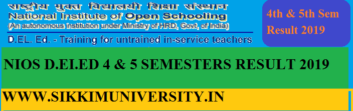 NIOS D.EI.Ed 5th Sem Result March 2020 Check 501, 502, 503, 504, 505 Results Name Wise 1