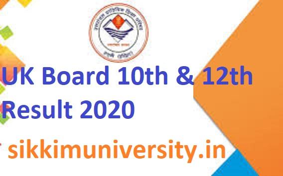 Live Uttarakhand Board 12th & 10th Results 2020 - उत्तराखंड बोर्ड रिजल्ट Expected in May 2020 2