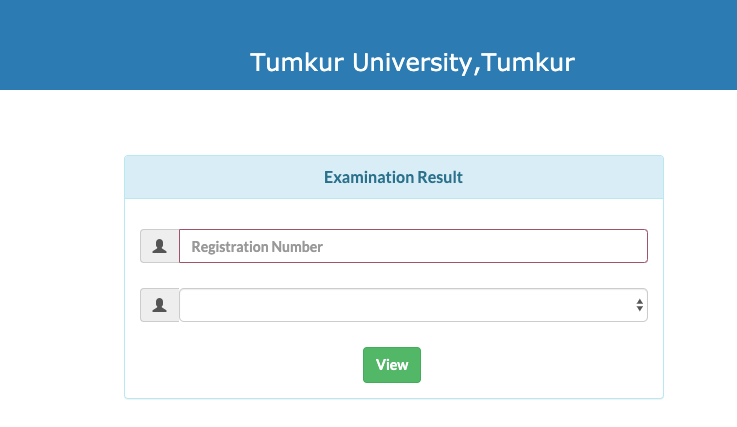 Check Tumkur University Result 2019 Click Here