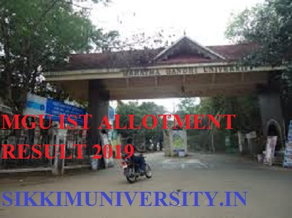 MGU Degree 1st Allotment 2021 Results List (Released)- MG University CAP First Allotment Login at Cap.mgu.ac.in 1