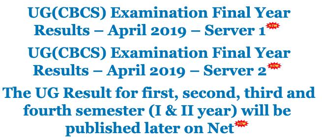 MKU Results 2021 for Part 1/2/3year BA, B.Com, B.Sc, MA, M.Sc, B.Lit, BBA April 2021 @mkuniversity.org 2