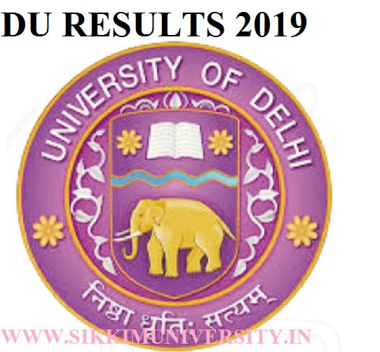 Delhi University Results 2021- NCWEB, Statement of Marks, Revaluation Result, SOL DU Result 1