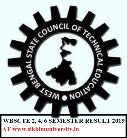 WBSCTE Results 2020 Even Sem. 2nd, 4th, 6th Semester June Exam Result 1