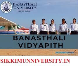 Banasthali Vidyapith Ist, 2nd, 3rd Result 2019 BA MA B.Sc MSC B.Ed BCom Exam Result Online 1