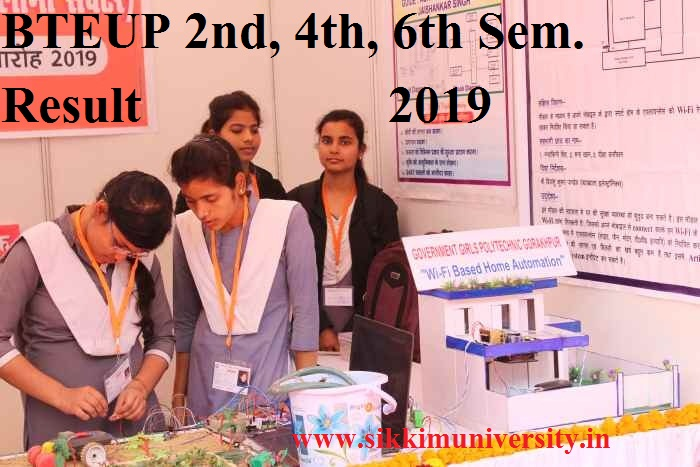 BTEUP Sem. Result In July 2019- UP Polytech. June/July Even Semester Results @bteupexam.in 1