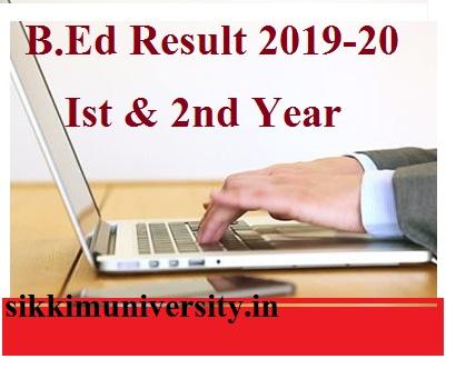 CCSU B.Ed रिजल्ट 2021 Ist year and 2nd year at ccsuniversity.ac.in 1