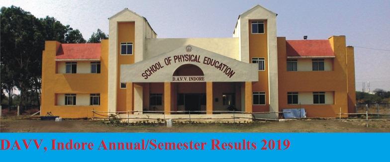 DAVV Indore Even/Odd Results 2019-20 Part I, II, III BA BSC BCOM MA Private & Regular Exam 1