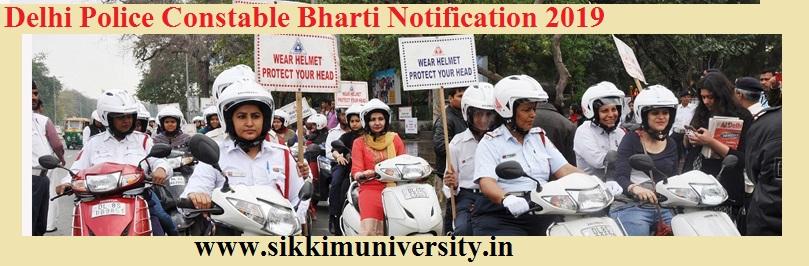 Delhi Police 15000 कांस्टेबल Recruitment 2019 Notification, Online Apply Form 1