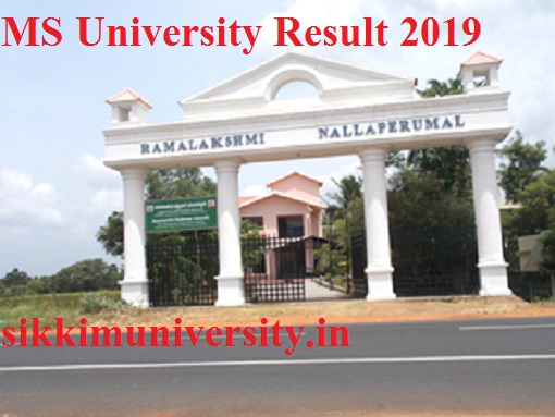 MS University Released Results April 2021 | MSU Result 2021 Sem/Year Wise part I, II, III year 1