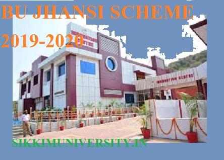 BU Jhansi Exam Scheme 2021 - Bundelkhand University Jhansi Routine 1