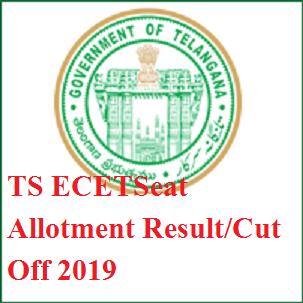 TS ECET Seat Allotment Result/Cut Off List 2020- Telangana ECET Allotment Order at tsecet.nic.in 1