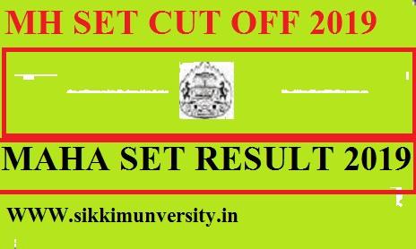 MH SET Cut Off, Merit List, Result 2019: Maharashtra SET Result Download @setexam.unipune.ac.in 1