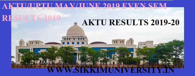 UPTU/AKTU May/June Result 2020: IInd, IVth, VIth, VIIIth Even Sem Results @aktu.ac.in 1
