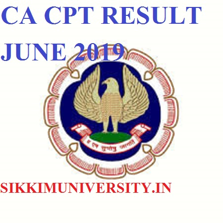 CA CPT Results June 2019 Likely To Be Declare on 18th July 2019: Check CPT Exam Topper List/%age @carresults.icai.org 1