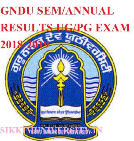 GNDU Amritsar Result 2021 Latest Sem/Annual BA B.Ed MA B.Sc BBA B.Tech B.Com Result 2021 1