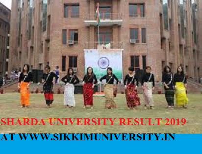 Sharda University Ist, 2nd, 3rd, 4th Result 2019: B.Tech Theory Exam (1802) Result at www.sharda.ac.in 1