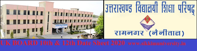 Uttarakhand Board 10th 12th Date Sheet 2021 - UK Board Time Table 2021 for 10 & 12 Class 1