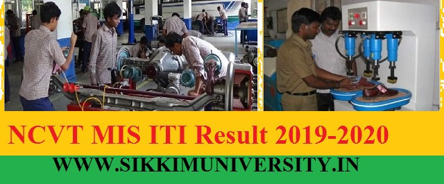 NCVT MIS ITI Result 2020 - NCVT MIS ITI State Wise 1st 2nd 3rd 4th Semesters Cut Off Merit List 2020 1