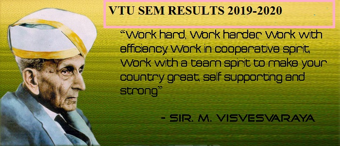 VTU Result 2020 (Released) B.Tech/ B.E 2nd, 6th, 4th, 8th 3rd Semester Results (CBCS / Non CBCS) and Marks @vtu.ac.in 1
