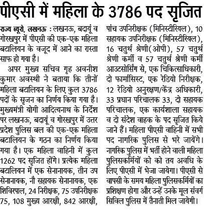 UP Police 52000 कांस्टेबल भर्ती 2020-2021 | उत्तर प्रदेश पुलिस Bharti Online Application Dates 2
