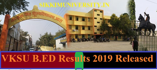 VKSU B.ED Results 2019 ( Released) of All Semesters - VKSU B.Ed I, II Year Result 2019 Available Here 1