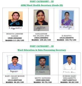 AP Grama Sachivalayam Result 2019 Released [*OUT*] Merit List/Cutoff Marks 6