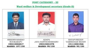 AP Grama Sachivalayam Result 2019 Released [*OUT*] Merit List/Cutoff Marks 7