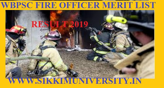 WBPSC 1450 Fire Operator Result/Merit List 2019 - Check West Bengal PSC Cut Off Marks at @ pscwbonline.gov.in 1