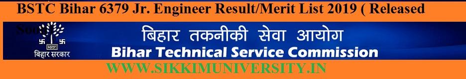 Bihar BTSC Staff Nurse, Tutor Result 2020